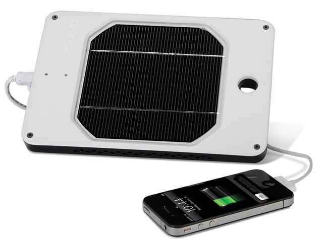 태양광충전 외장배터리