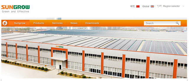 Sungrow factory