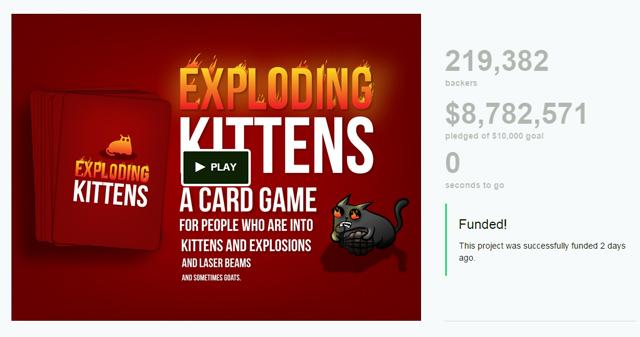Exploding Kitten 판매