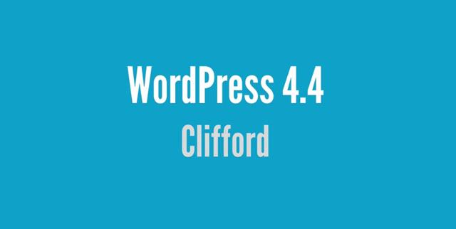 워드프레스4.4 클리포드