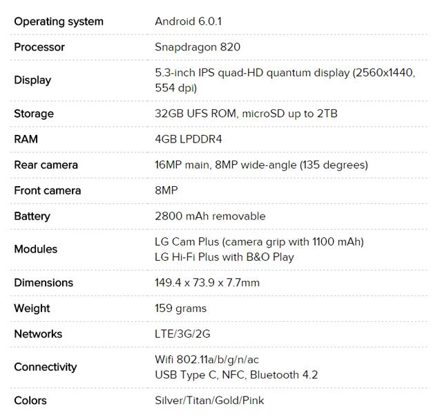 LG G5 smartphone 02