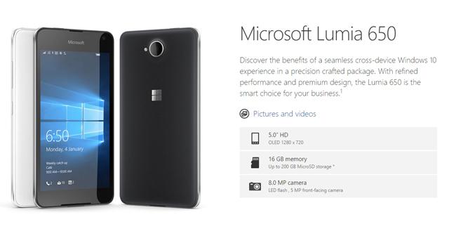 MS Lumia 650 01