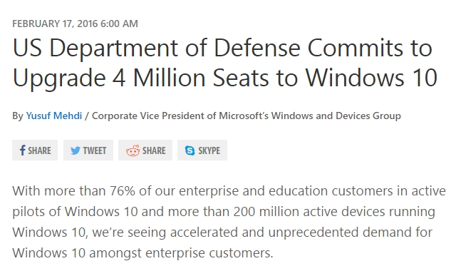 us dod windows 10