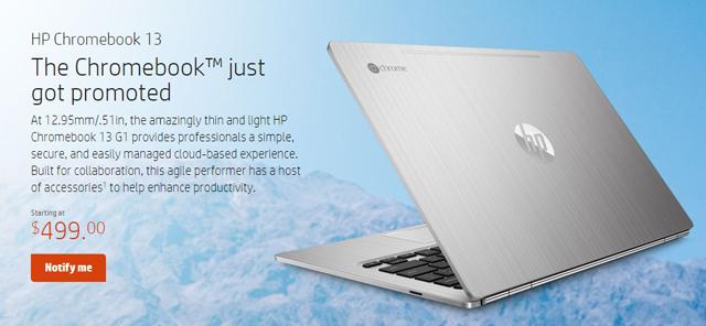 HP chromebook 13 01