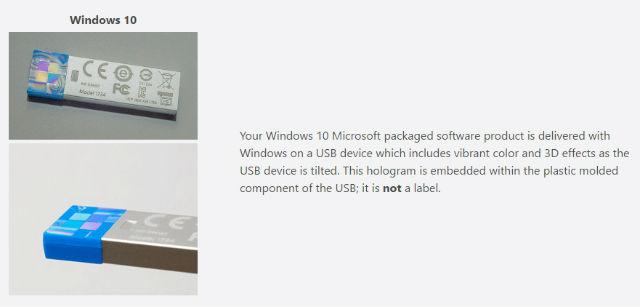 windows10 install usb drive